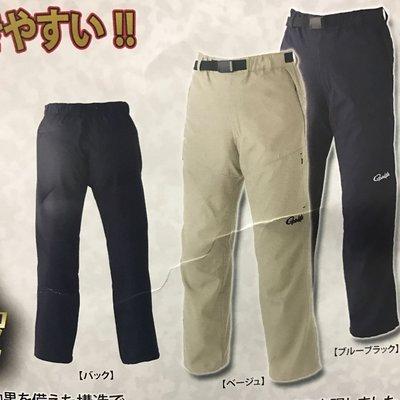 **小愛**    GAMAKATSU GM-3423    透氣 排汗速乾 釣魚褲