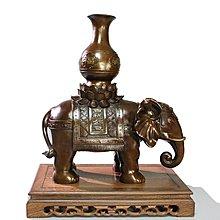 【凡了居】金屬銅工藝品 家居擺件 禮品 平安大象 吸財旺財 送上司朋友 銅之運240