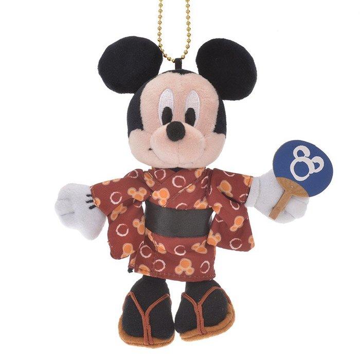 *B' Little World * [現貨]東京迪士尼專賣店限定/米奇夏季浴衣吊飾/東京連線