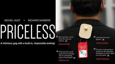 Priceless (Gimmick and Online Instructions) by Michel Huot a