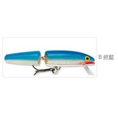 【敬多路亞】Rapala 9公分 兩節式米諾 巴爾莎木製 J09 Jointed