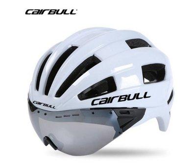 CAIRBULL附護目鏡 一體成形動力安全帽