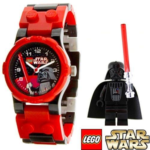 現貨【LEGO 樂高】益智玩具積木/ 星際大戰 Star wars 黑武士Darth Vader 人偶手錶公仔 人偶分開