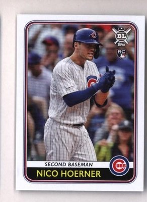 2020 Topps Big League #139 Nico Hoerner - Chicago Cubs RC