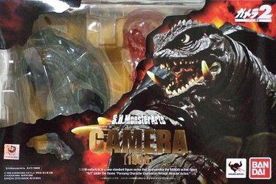 日本正版 萬代 S.H.MonsterArts SHM 卡美拉 1999 可動 模型 公仔 日本代購