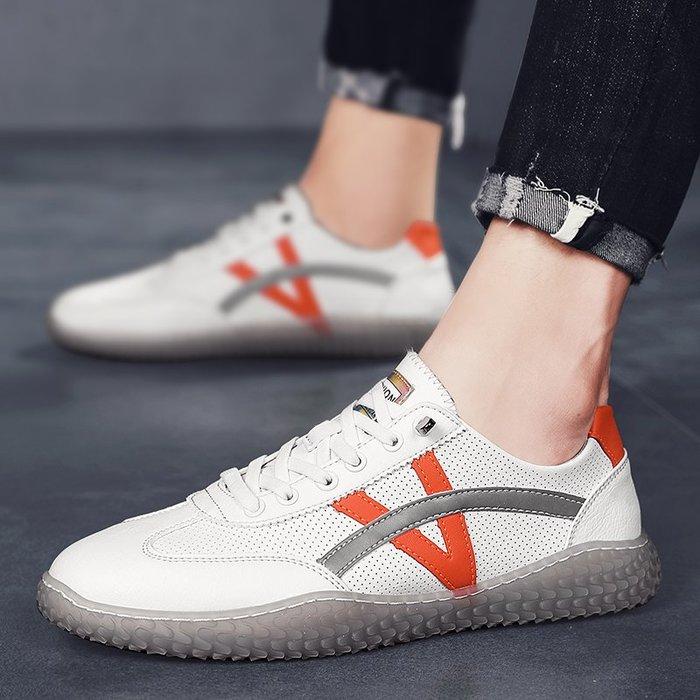 TIME&NES~板鞋男士鞋子男潮鞋2020新款潮流百搭休閒鞋男鞋夏季透氣小白鞋男
