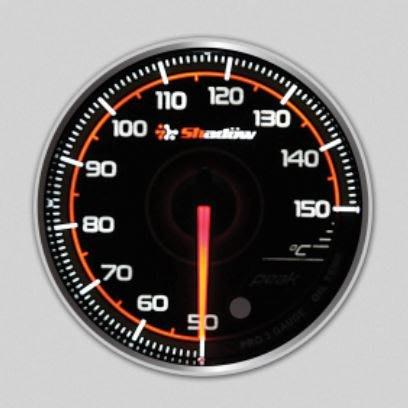 DJD19052324 Shadow 油溫錶 PRO3賽車錶 - 透明黑底 60mm錶面 歡迎洽詢