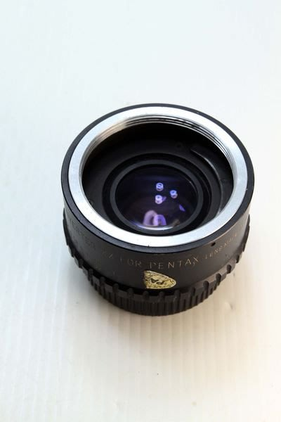 ASANUMA FOR PENTAX M42 2X TELE M42接環 兩倍鏡 打鳥輔助鏡