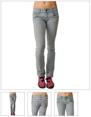 阿弘的賣場 Dickies Girl MS193LB Five Pocket Skinny Jeans With Wide Waistband