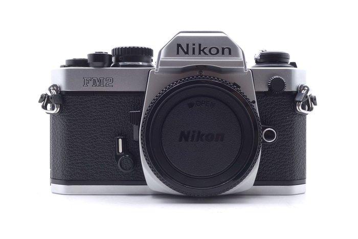【台中青蘋果競標】Nikon FM2 單機身 底片相機 料件機出售 庫存品出清 #21346
