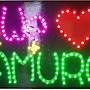 安室奈美惠 LED螢光版 接機粉絲版 電池款~ 優惠價含運 B款 20*30cm