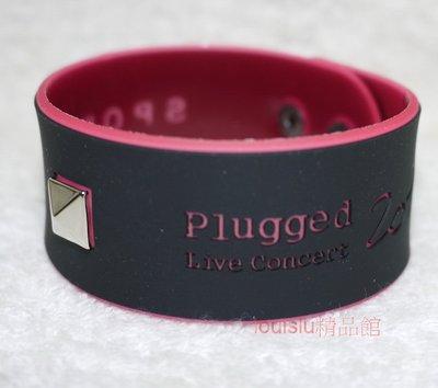 小b精品 2015 SPORT B. PLUGGED LIVE CONCERT 【限量紀念手環(粉紅色)】agnes b