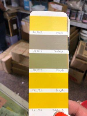 【振通油漆公司】RAL 進口素色漆 下標購買前請先詢問報價 100g (另售金油補土補漆噴漆底漆)