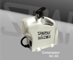 "SPARMAX 漢弓 AC-55 小型可攜式 ""超""迷你無油式空壓機+簡易筆架 只有2.1公斤"