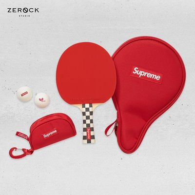 《ZEROCK》SUPREME x BUTTERFLY TABLE TENNIS RACKET SET 乒乓球拍組
