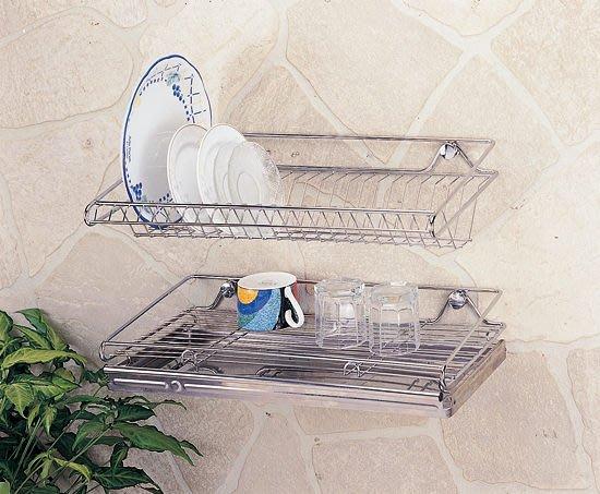 ☆成志金屬☆S-84-1B #304不銹鋼碗盤餐具置物架,瀝水盤架附不鏽鋼水盤。廚房收納架、盤架。
