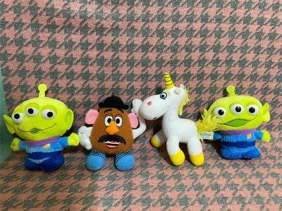 日本帶回 玩具總動員 三眼仔 蛋頭先生  小奶油 獨角獸 吊飾 玩偶 三眼怪disney