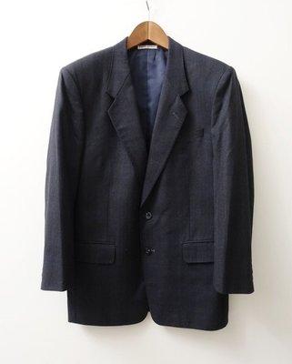 皮爾帕門 PIERRE BALMAIN 深灰色 純羊毛 西裝外套