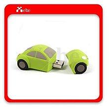 金龜車8GB隨身碟 - 車子 隨身碟 造型隨身碟  客製化商品 創意禮物 禮物