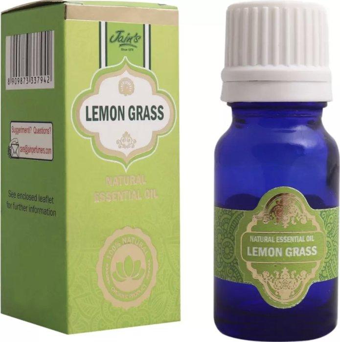 [綺異館]印度精油 檸檬草 10ml JAIN'S LEMON GRASS 另售印度皂 印度香