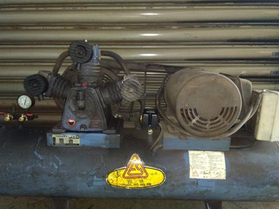 中古3HP復盛快速型空壓機 單相220V(中古機庫存 不定期更新)
