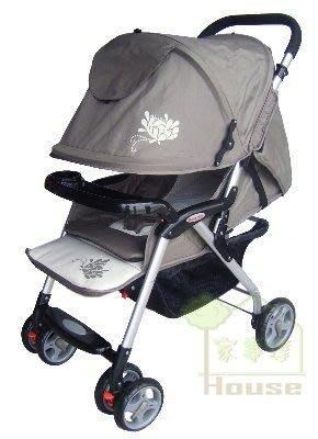 [ 家事達 ] Mother's love- HP715 和風輕便 嬰兒手推車--墨綠色 特價