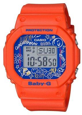 日本正版 CASIO 卡西歐 Graffiti Face Baby-G BGD-560SK-4JF 女錶 手錶 日本代購