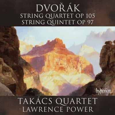 德佛札克 : 弦樂四重奏與五重奏 塔卡許四重奏 / 勞倫斯包爾 Lawrence Power---CDA68142