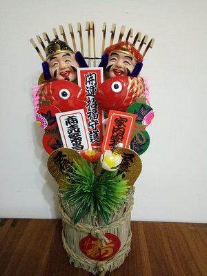 天使熊雜貨小舖~日本帶回 開運招福守護 商売繁昌 家內安全 熊手擺飾  全新現貨