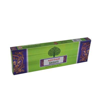 [晴天舖] 印度線香 特級香 SPIRITUAL 心靈系列-SPRISHTI開創  量販香