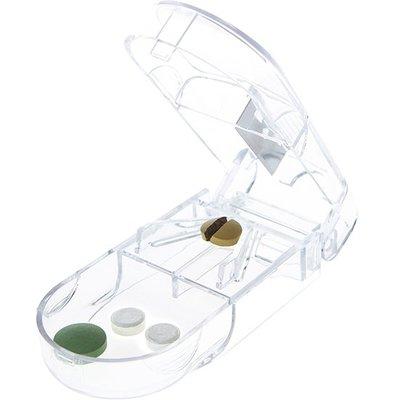 ☜shop go☞【P104】隨身便攜藥片分割器 藥盒 創意 分藥盒 切藥器 迷你 藥品收納盒 分藥器 收納 置物 固定