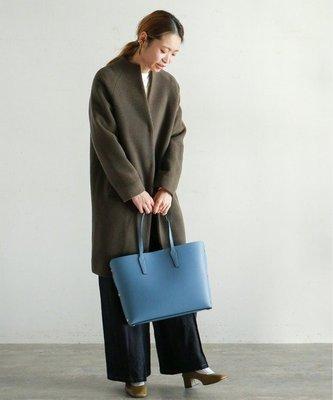 |The Dood Life|NOMBRE IMPAIR / 氣質圓弧立領 二股編織 輕量溫暖羊毛大衣外套