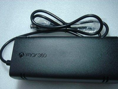原廠全新微軟XBOX 360E主機專用變壓器,110V , 120W電源供應器附電源線