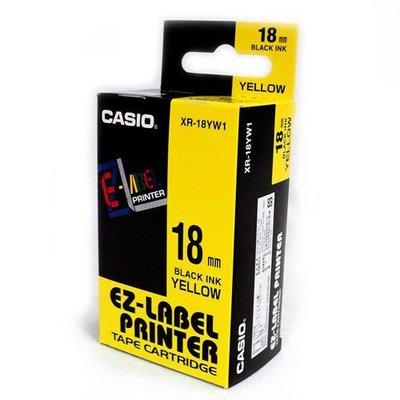 CASIO原廠標籤帶 18mm色帶 適用: KL-170 / KL-170plus / KL-G2TC
