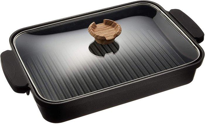 【樂活先知】『代購』 日本 IRIS OHYAMA   瀝油烤盤   明火/IH感應爐可用  SKL-G