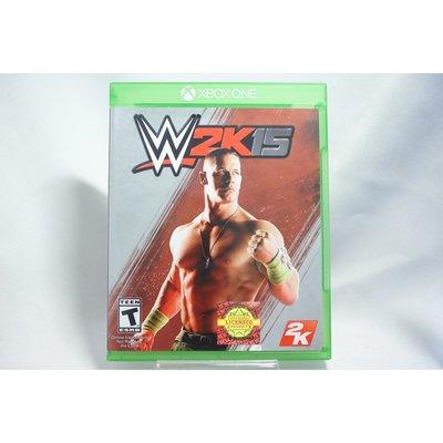 [耀西]二手 美版 XBOX ONE WWE 激爆職業摔角 2K15 含稅附發票