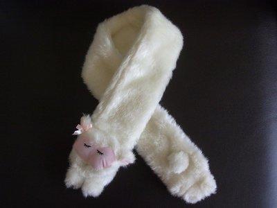AJ衣飾 可愛綿羊雪白圍脖 包2-05