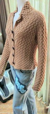 ¤ 就是愛買 ¤ D.EXTERIOR 義大利 立領針織外套