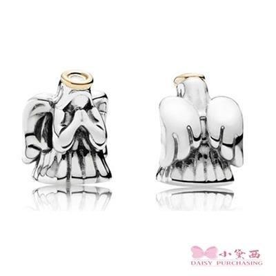 小黛西代購 潘多拉 Pandora 14K雙色天使串珠  Charms 美國正品 可分3期