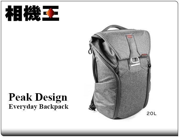 ☆相機王☆Peak Design Everyday Backpack 20L 魔術使者後背包 炭燒灰 (4)