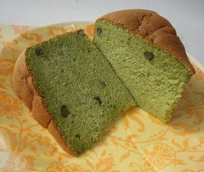 抹茶紅豆8吋戚風蛋糕~低糖低脂!! ╭ 蓁橙手工烘焙 ╮