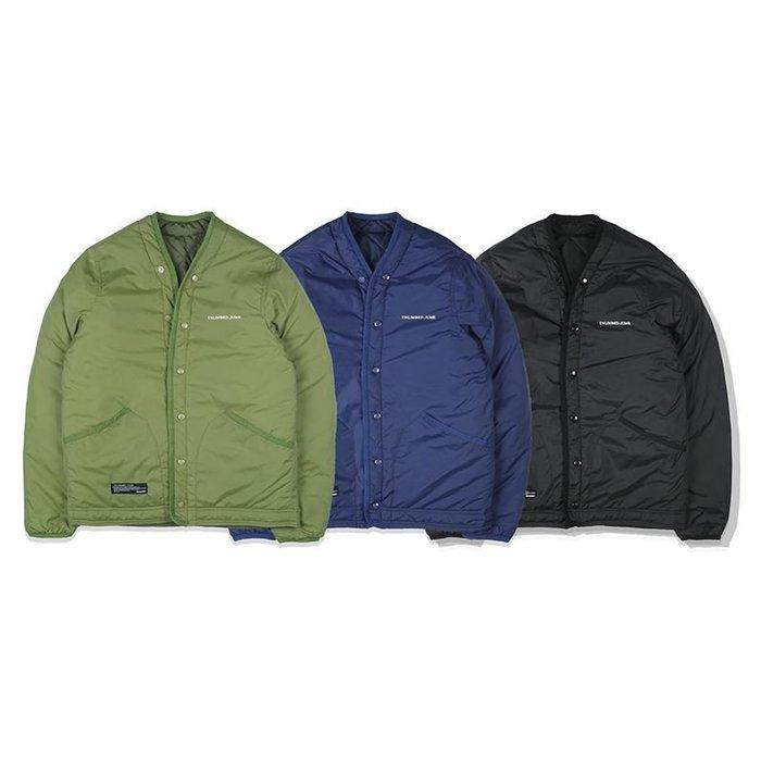 【NoComment】美式休閒夾克 雙面穿棒球休閒防風外套 三色 STUSSY NY
