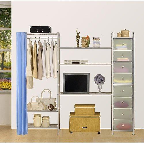 【中華批發網DIY家具】D-64-12-W3型60+90+pp電視衣櫥置物櫃-(前罩)不織布