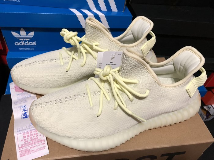 adidas Yeezy Boost 350 V2 Butter F36980 奶油黃 US6 & US11