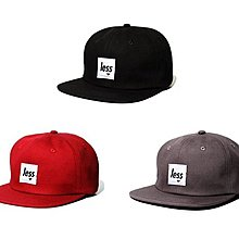 { POISON } LESS SQUARE LOGO POLO HAT 2015首發LOGO皮格調節棒球帽
