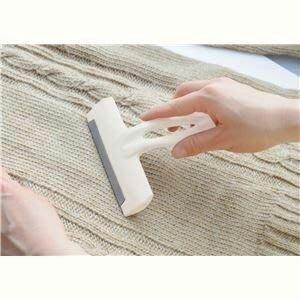柚柚麻+++日本 清水產業 Seiei Nap-cut 去毛球刮板 易握 免電池
