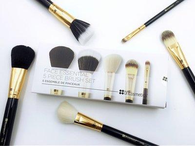 【愛來客 】美國 BH Cosmetics Face Essential 5支臉部化妝刷刷具組