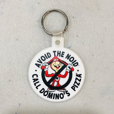 (I LOVE樂多) 美國進口 AVOID THE NOID 鑰匙圈 軟膠材質
