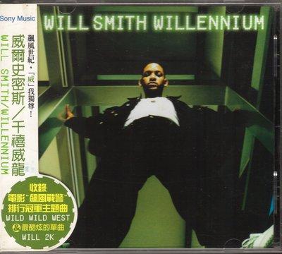 威爾史密斯 WILL SMITH - WILLENNIUM CD+側標 (黏在外盒上)