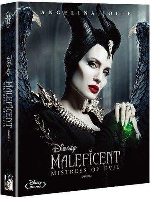 毛毛小舖--藍光BD 黑魔女2 全紙盒限量鐵盒版(中文字幕) Maleficent 2